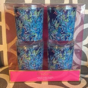 Lilly Pulitzer LoBall Glasses Set